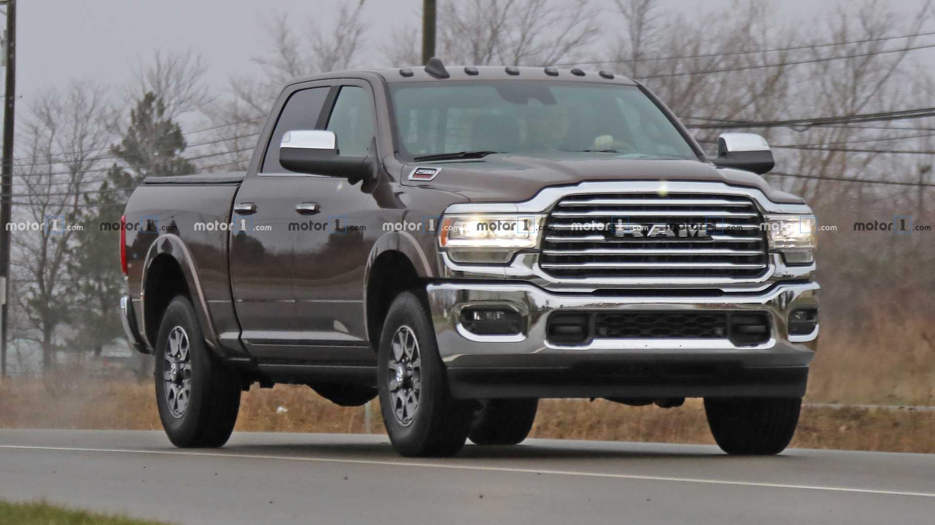 2020 Ram Power Wagon Cummins Engine, Interior, Release Date >> 2020 Ram Hd Interior Fully Revealed In Latest Spy Shots