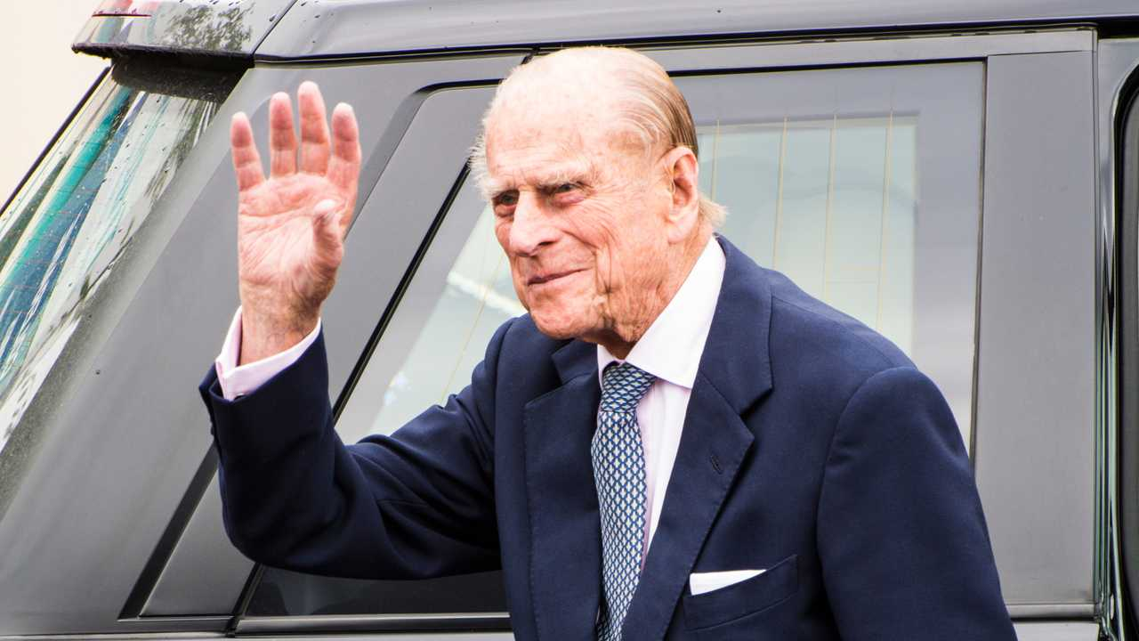 HRH Prince Philip at Railway Station Coleraine Northern Ireland