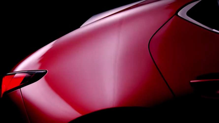 Mazda Teases Something Shapely – Could It Be The New Mazda3?