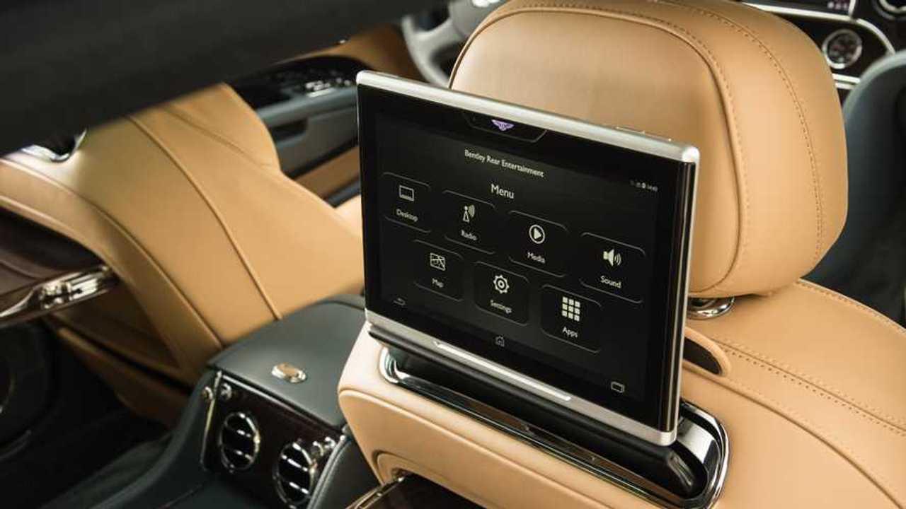 Bentley in-car WiFi