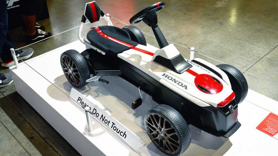 Honda pedal car is for the inner child in you