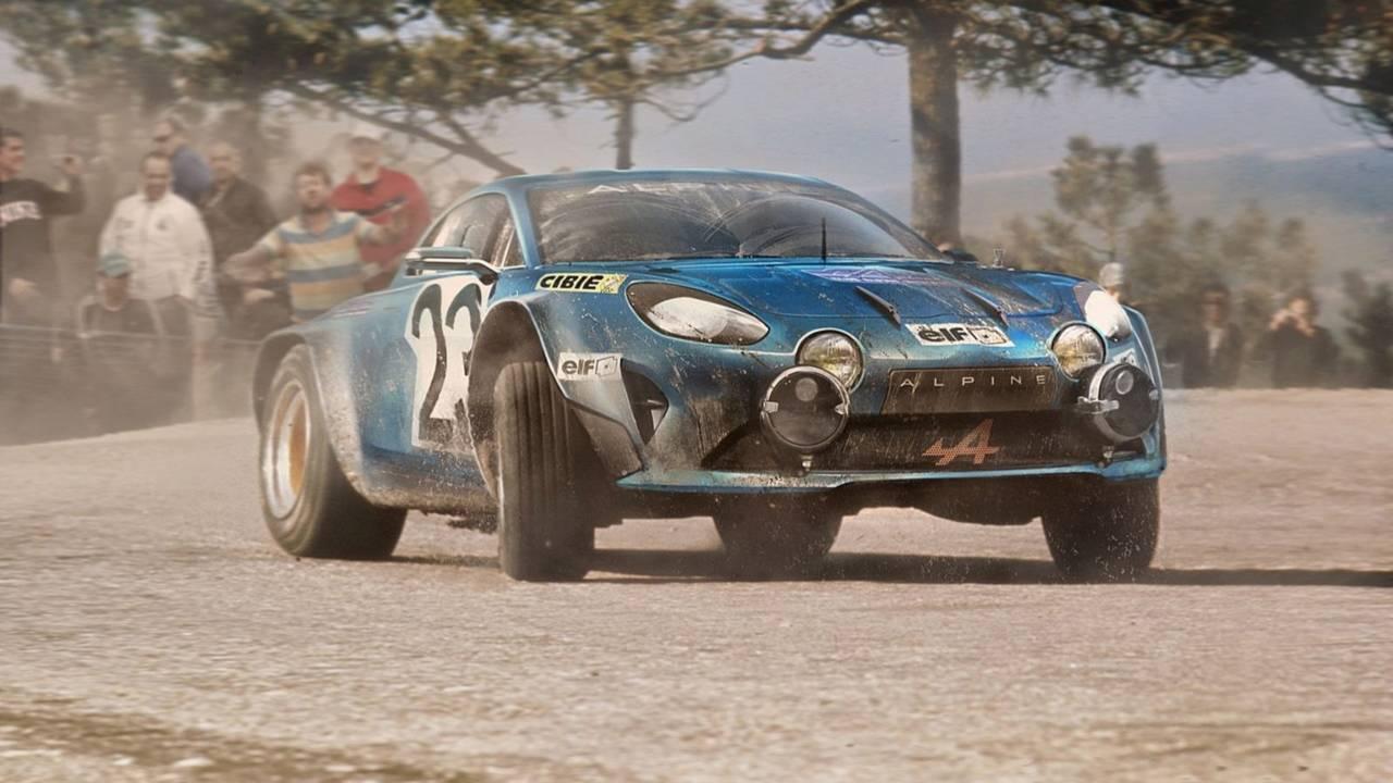 Alpine A110 WRC