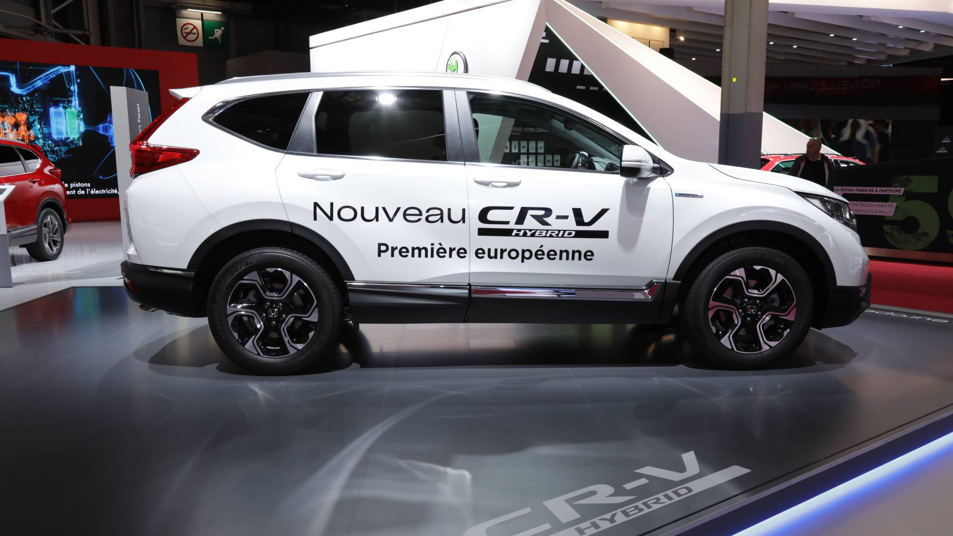 2018 Honda CR-V: News, Hybrid Version, Arrival >> Production Ready Honda Cr V Hybrid Arrives At Paris Motor Show