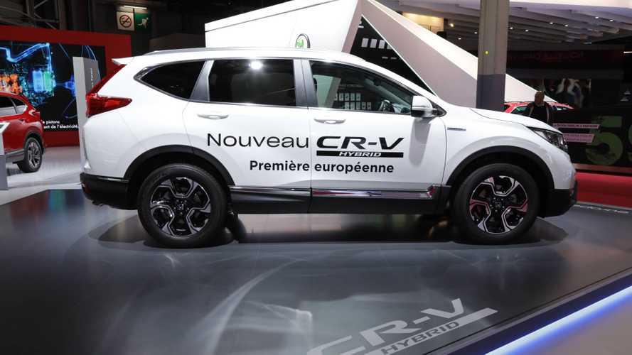 2019 Honda CR-V Hybrid at Paris Motor Show