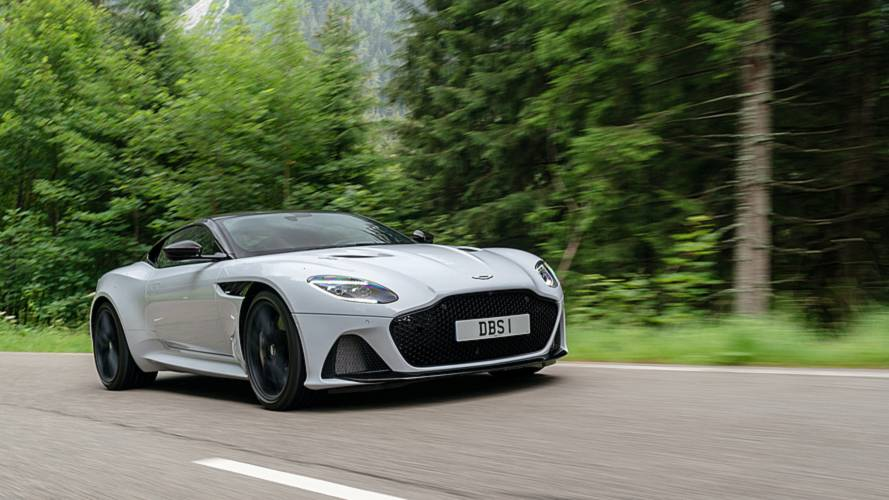 Aston Martin DBS Superleggera Türkiye'de