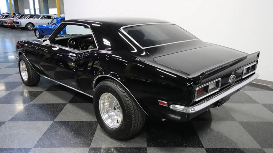 David Koresh 1968 Chevrolet Camaro
