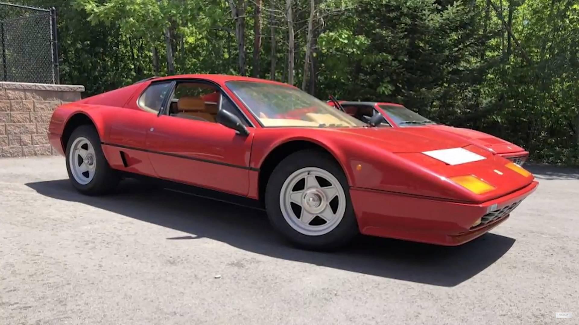Watch This Classic Ferrari 512 Bb Get Reborn In 8 Minutes