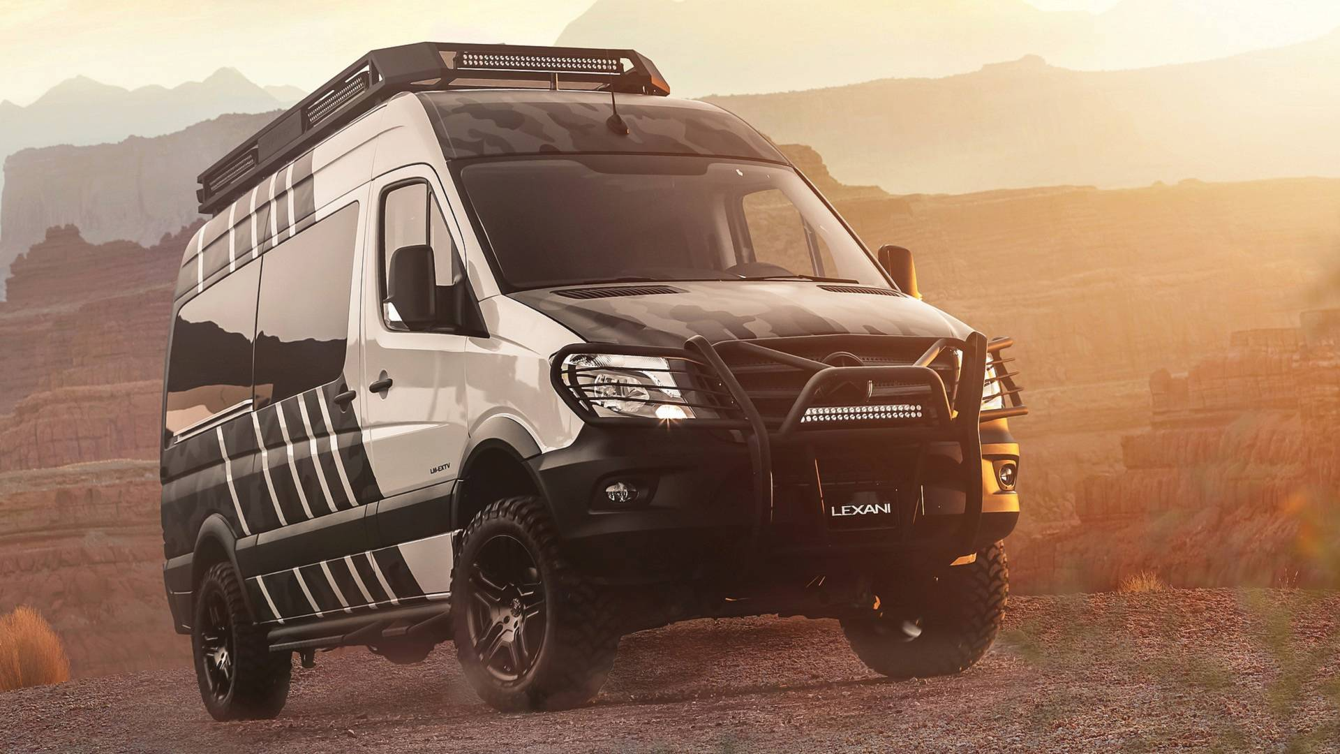 Lexani Lm Extv Camper Goes Off Road With Extreme Opulence Sprinter Rv Solar Systems