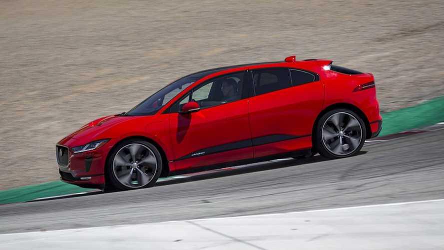 Рекорд Jaguar I-Pace на трассе Laguna Seca