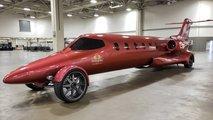 Avión convertido en limusina