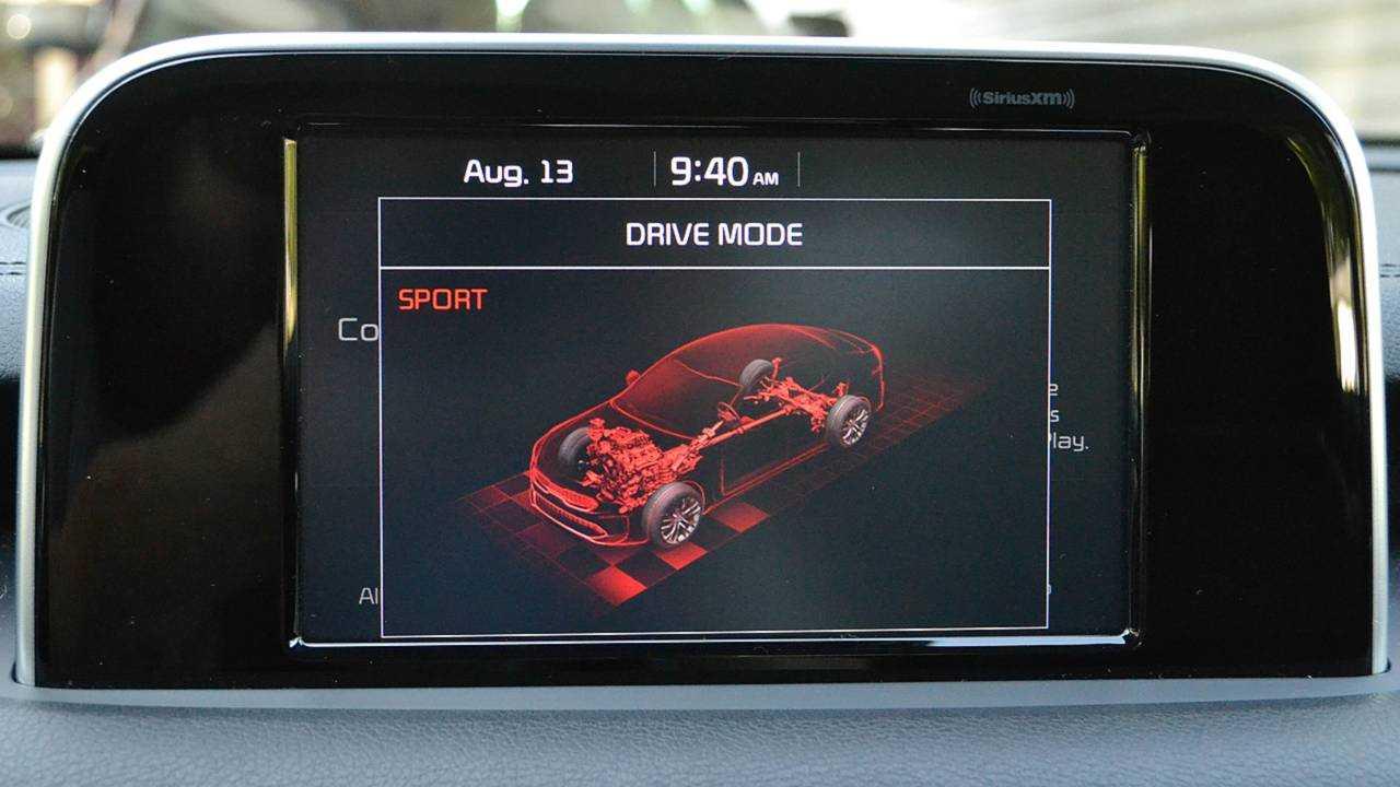 3. Sport mode makes spirited driving a breeze
