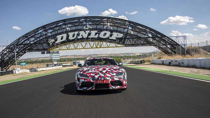 Primera prueba Toyota Supra prototipo