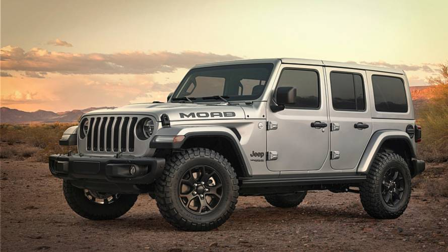 Jeep Wrangler Moab Edition Adds Big Tires, More Standard Equipment