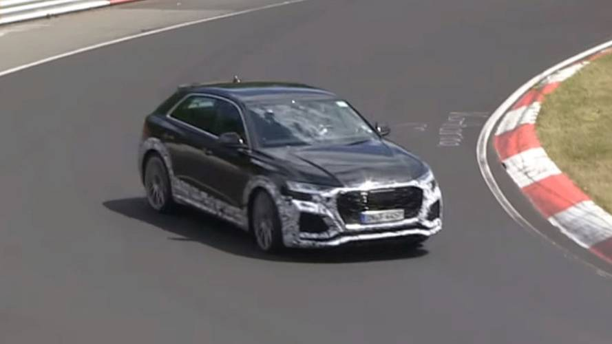 Audi RS Q8 Shows Some Drift Skills In New Spy Video