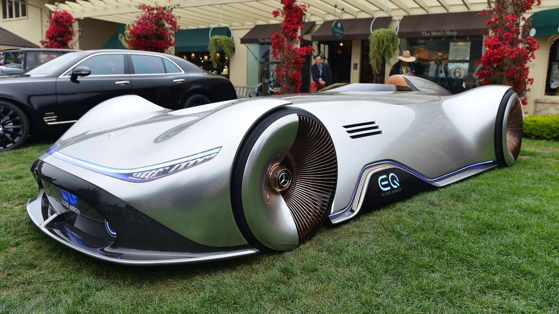 Image result for Mercedes-Benz Vision EQ Silver Arrow