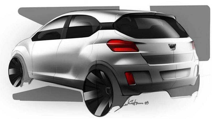 Sketch Dacia Sandero 2020