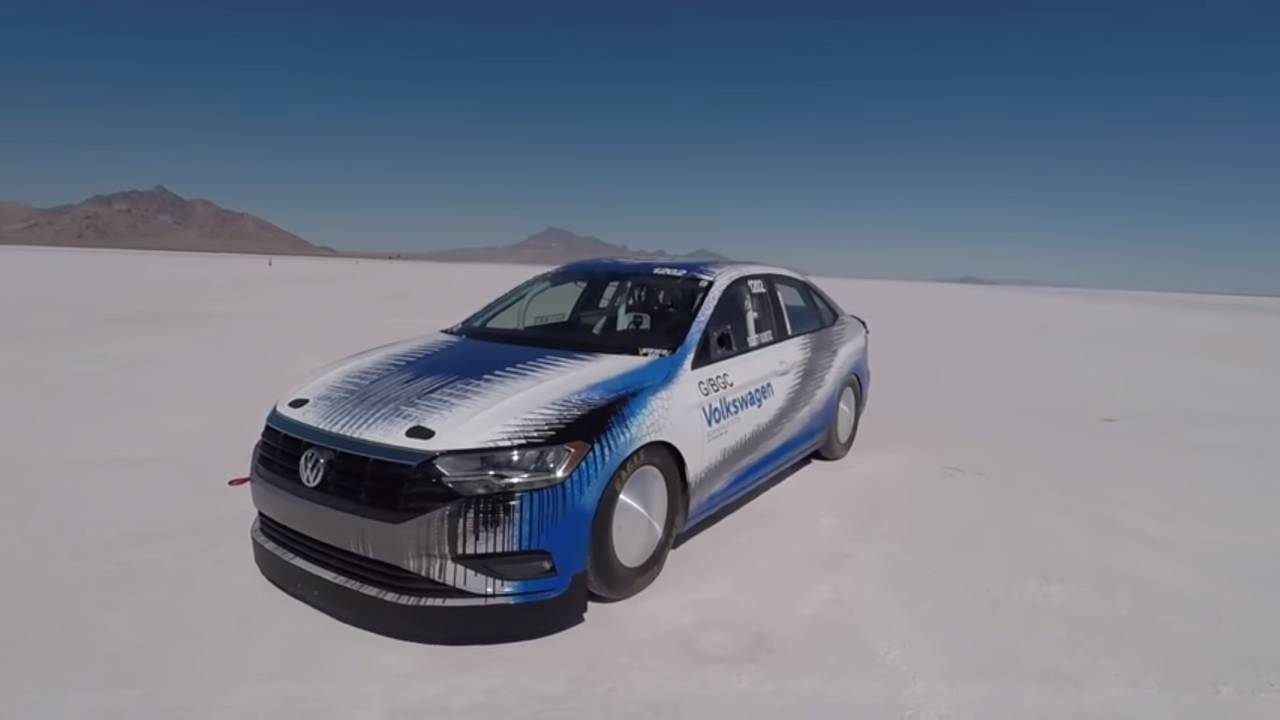 VW Jetta Land Speed Car