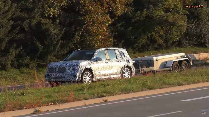 Mercedes-Benz GLB-Serisi kafilesi objektiflere takıldı