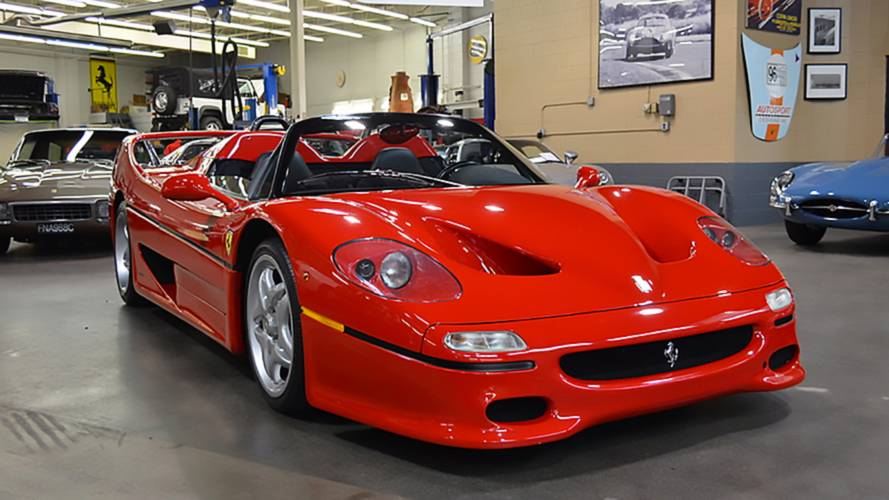 First Ferrari F50 ever built is up for grabs