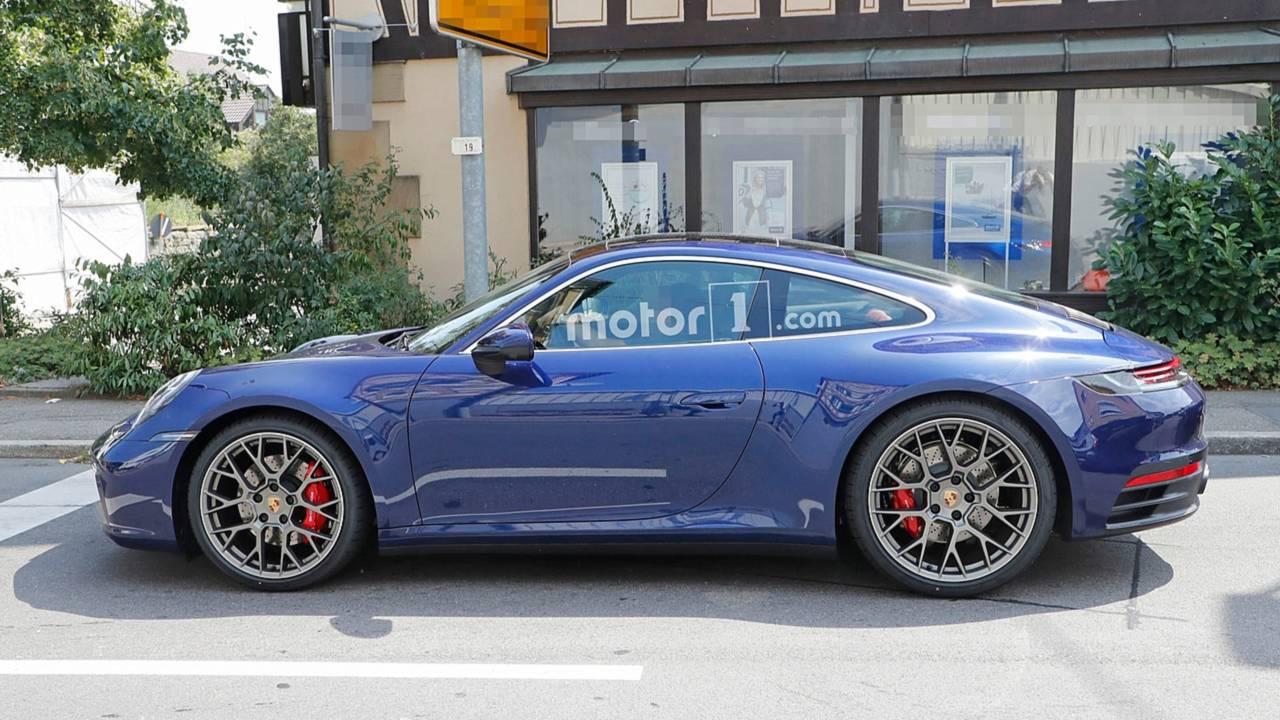 2019 Porsche 911 992 ungetarnt