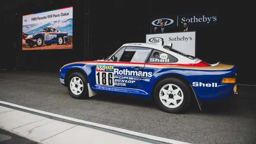 Une Porsche 959 Paris-Dakar vendue plus de 5 millions d'euros !