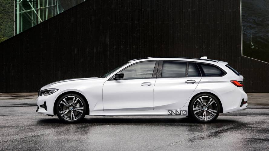 2020 BMW 3 Series Wagon render