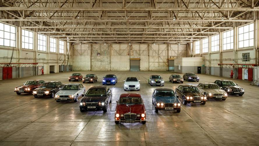 Jaguar XJ Convoy To Paris Motor Show Marks 50 Years