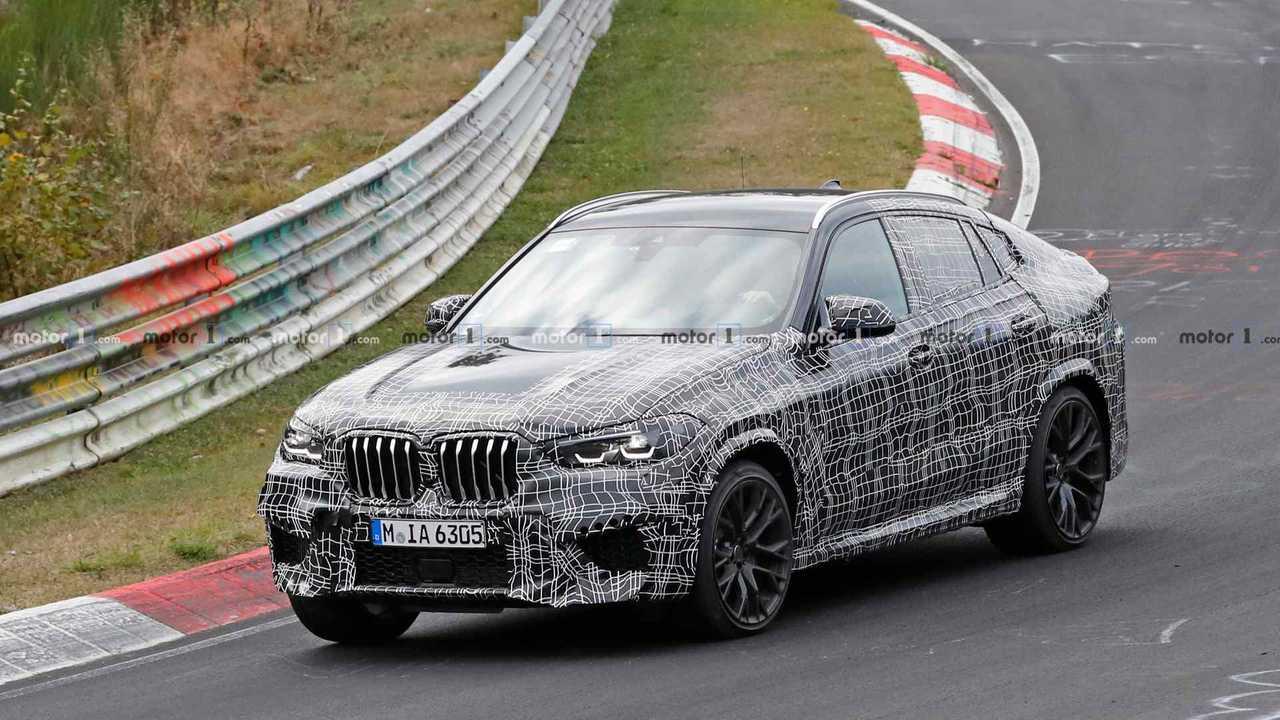 BMW X6 M Spy Photo