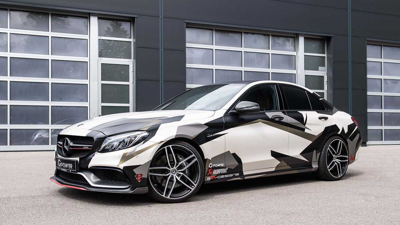G-Power Mercedes C63 AMG