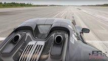 porsche 918 spyder video velocidad