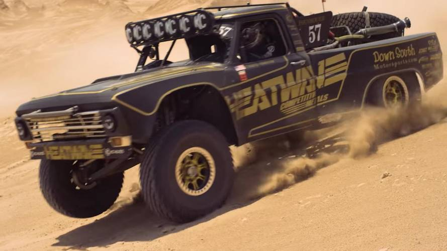 Ford-F-100-Inspired Trophy Truck Shows Off Its Brawn In The Desert