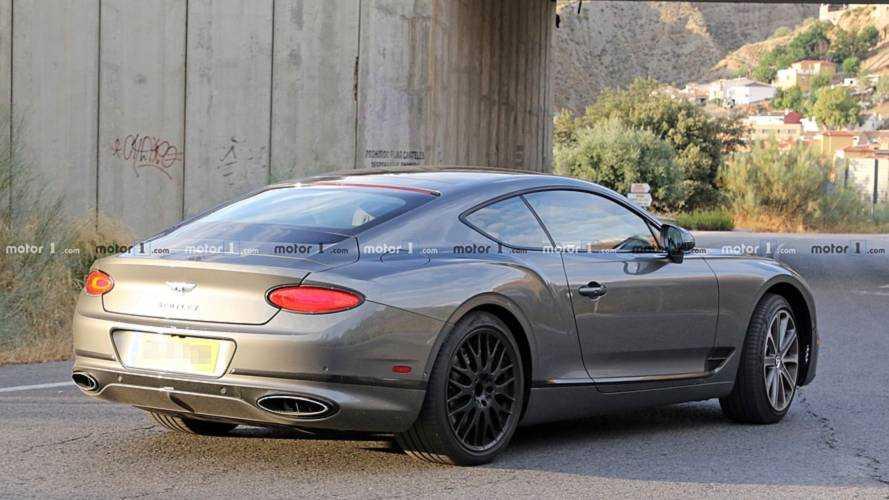 Bentley Continental GT Speed spy photo