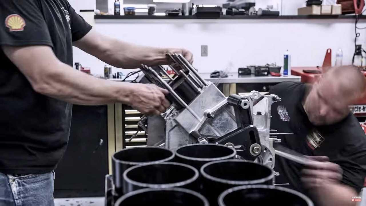 nhra top fuel dragster engine rebuild