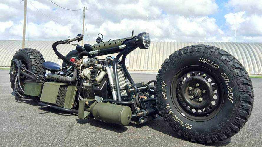 Cycleweird Short: Sam Turner's Bonkers Diesel Motorcycle