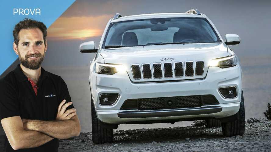 Jeep Cherokee restyling, la prova con la trazione anteriore