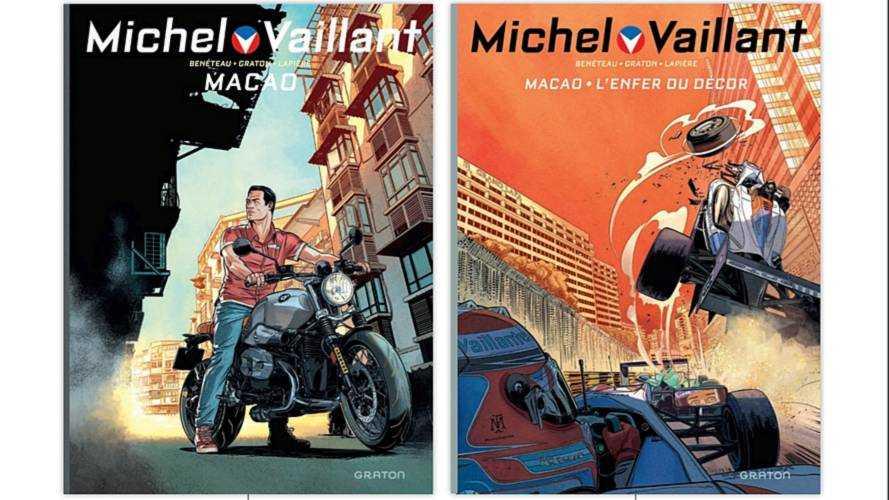 Découvrez la couverture du prochain Michel Vaillant