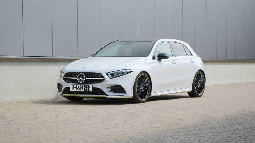 H&R-Sportfedern für die neue Mercedes A-Klasse