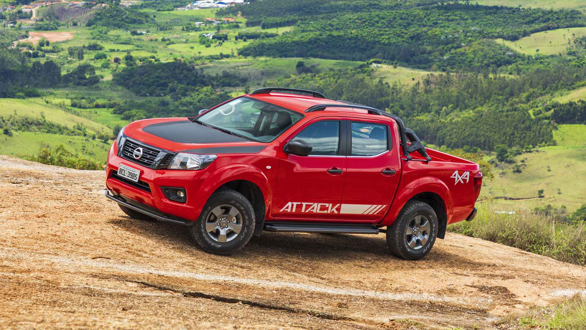 Teste Instrumentado Nissan Frontier Attack 2019 Lidera Ofensiva Da Picape