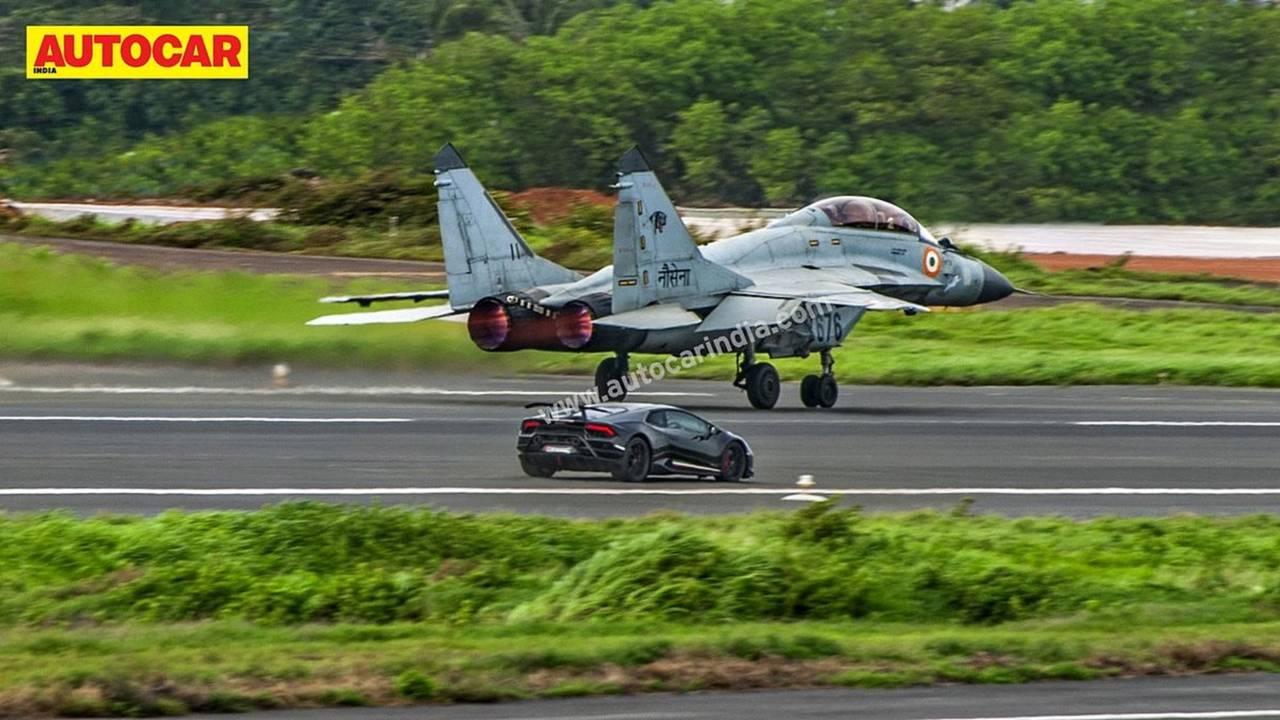 Huracan MiG-29K drag race