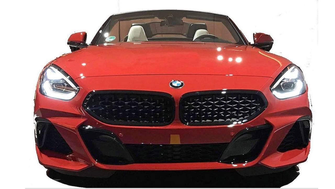 BMW Z4 leaked image