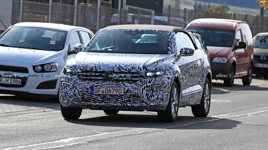 Volkswagen T-Roc Cabrio 2019 Erlkönig