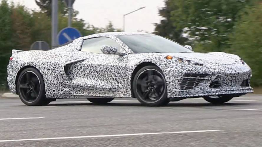 Mid-Engined Corvette Spied On A Speedy Run Around The ...