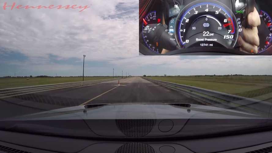 Hennessey Jeep Trackhawk 400 metreyi 9.66 saniyede geçebiliyor