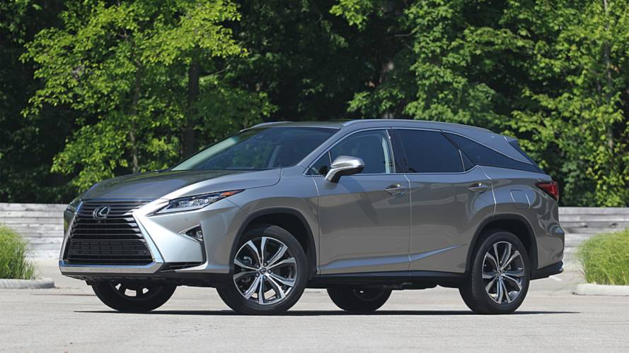 2018 Lexus RX 350L Review: More Junk In Its Trunk