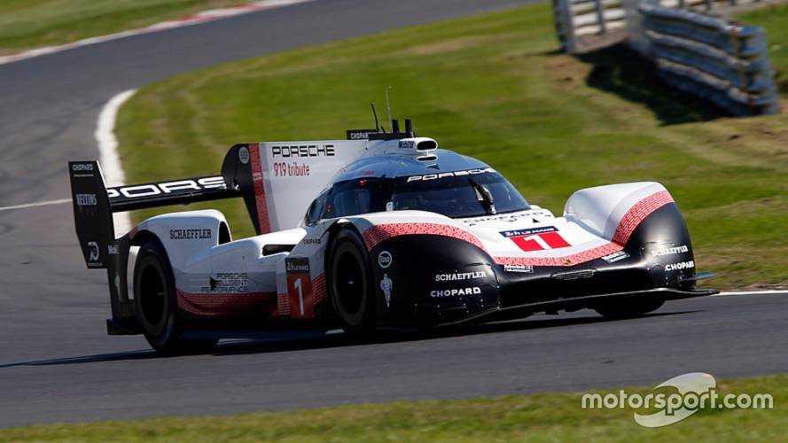 Porsche 919 Evo just misses Brands Hatch lap record
