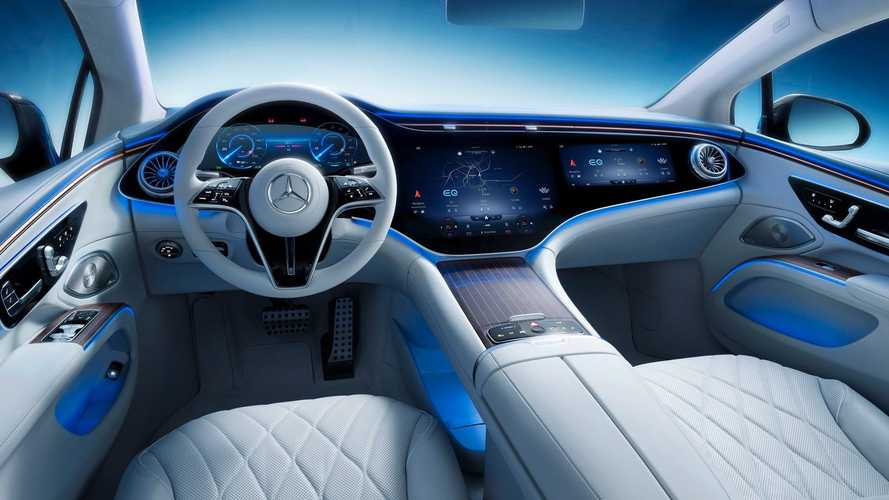 Mercedes-Benz Reveals Stunning Interior Of The EQS