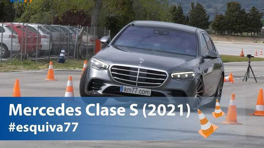 Vidéo - La Mercedes Classe S en difficulté au test de l'élan