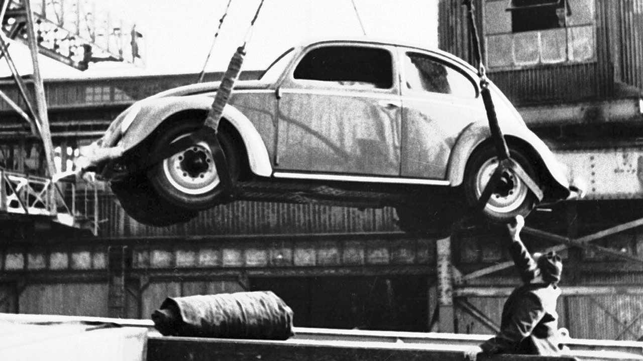 VW Fusca importado em 1950