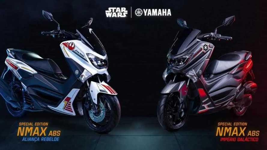 Yamaha NMAX dengan Livery Star Wars Muncul di Brazil