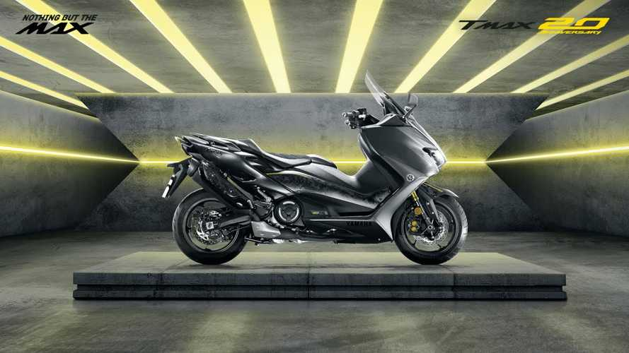 Yamaha Celebrates TMAX 20th Anniversary With Limited-Edition
